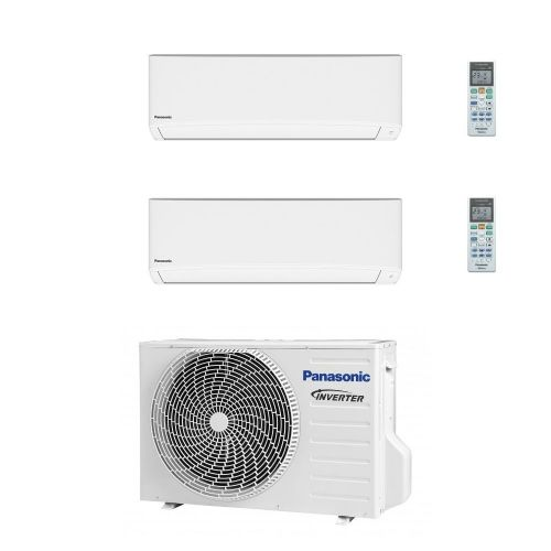 Panasonic Air Conditioning 2 x CS-TZ35TKEW Wall Mounted Multi CU-2Z41TBE 6Kw/19000Btu A++ 240V~50Hz